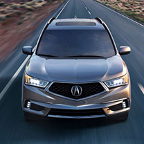 New MDX at Radley Acura