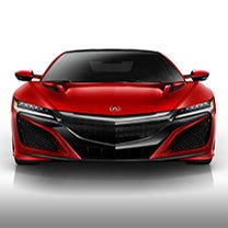 New NSX at Radley Acura